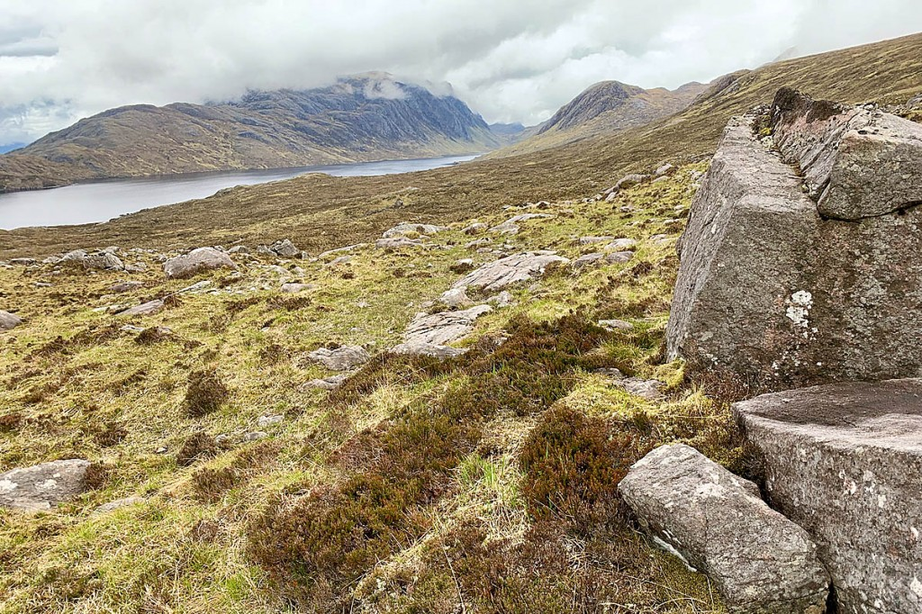 Mr Rhodes was reported missing after going walking in the Fisherfield Forest. Photo: Andy Beaton