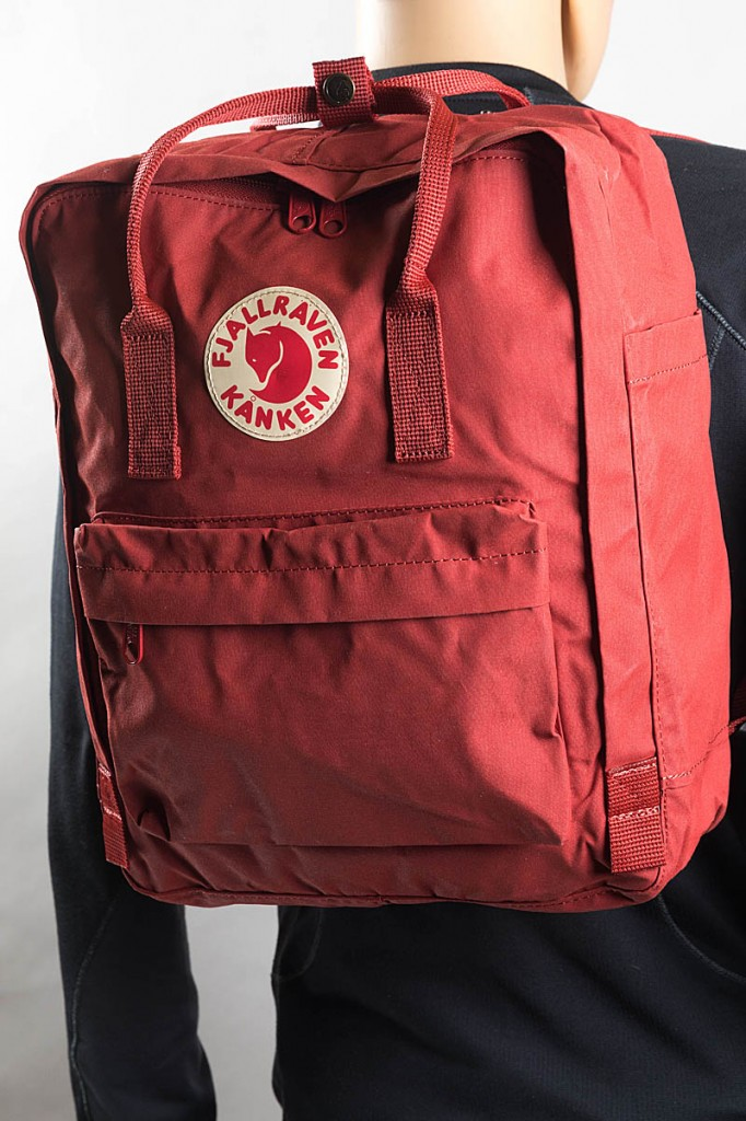 Fjallraven Kånken rucksack. Photo: Bob Smith/grough