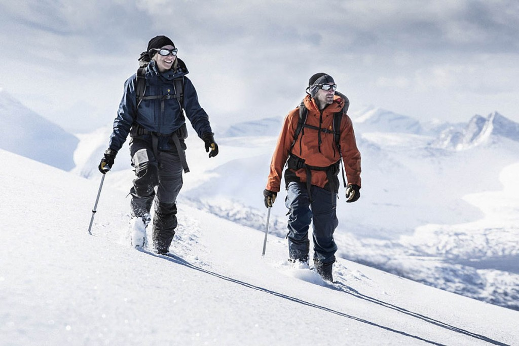 Fjallraven's Bergtagen range has been designed for life above the tree line