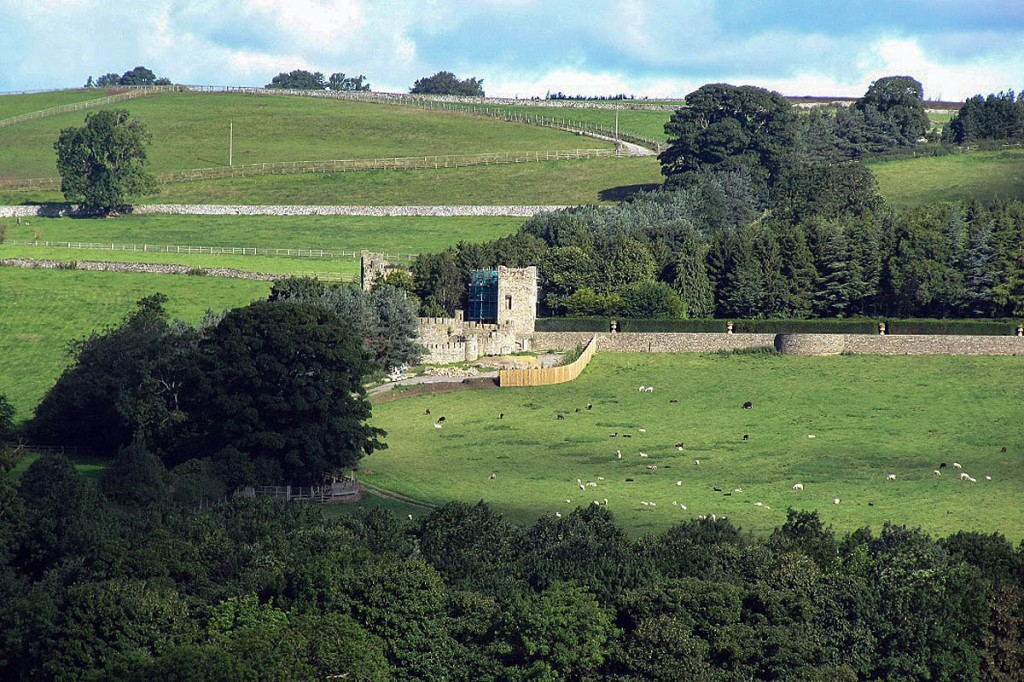 The castle folly at the Forbidden Corner. Photo: Yorkshire Dales NPA