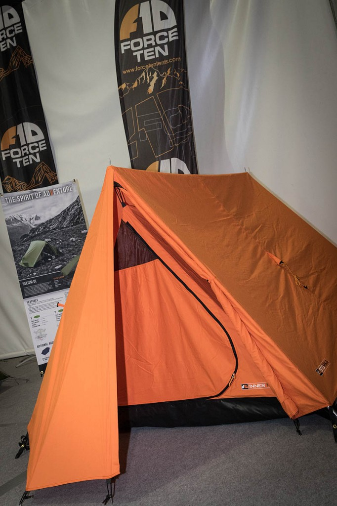 A version of the tent that started it all, the Force Ten Classic, is still on sale. Photo: Bob Smith/grough