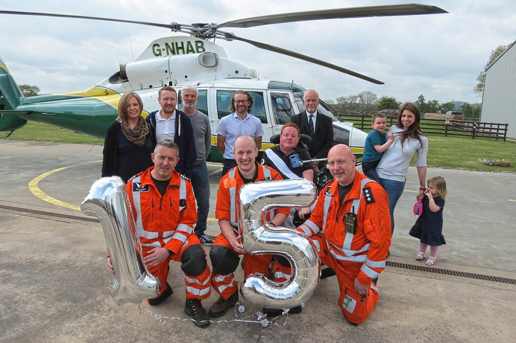 The Great North Air Ambulance is celebrating 15 years as a charity