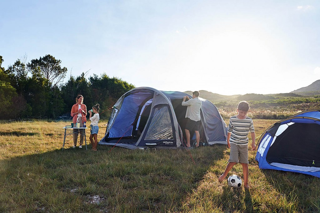 Increasing numbers of Britons are turning to camping for their holidays