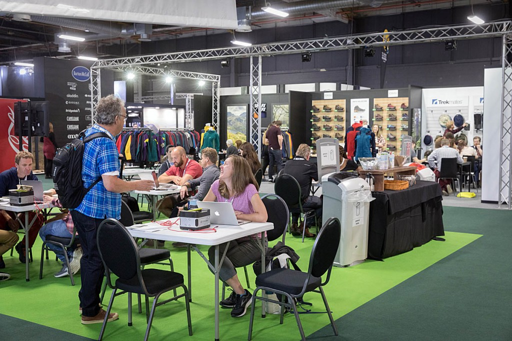 The Outdoor Trade Show has been held in Manchester recently. Photo: Bob Smith/grough