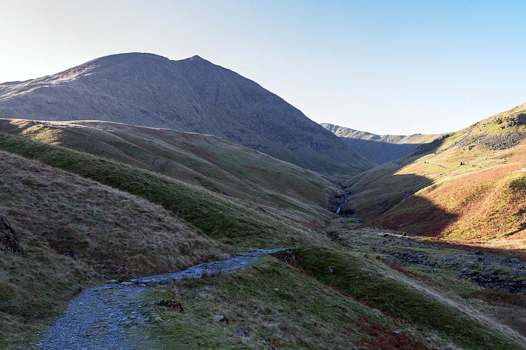 The injured man was found on the main Glenridding Common path. Photo: Bob Smith/grough
