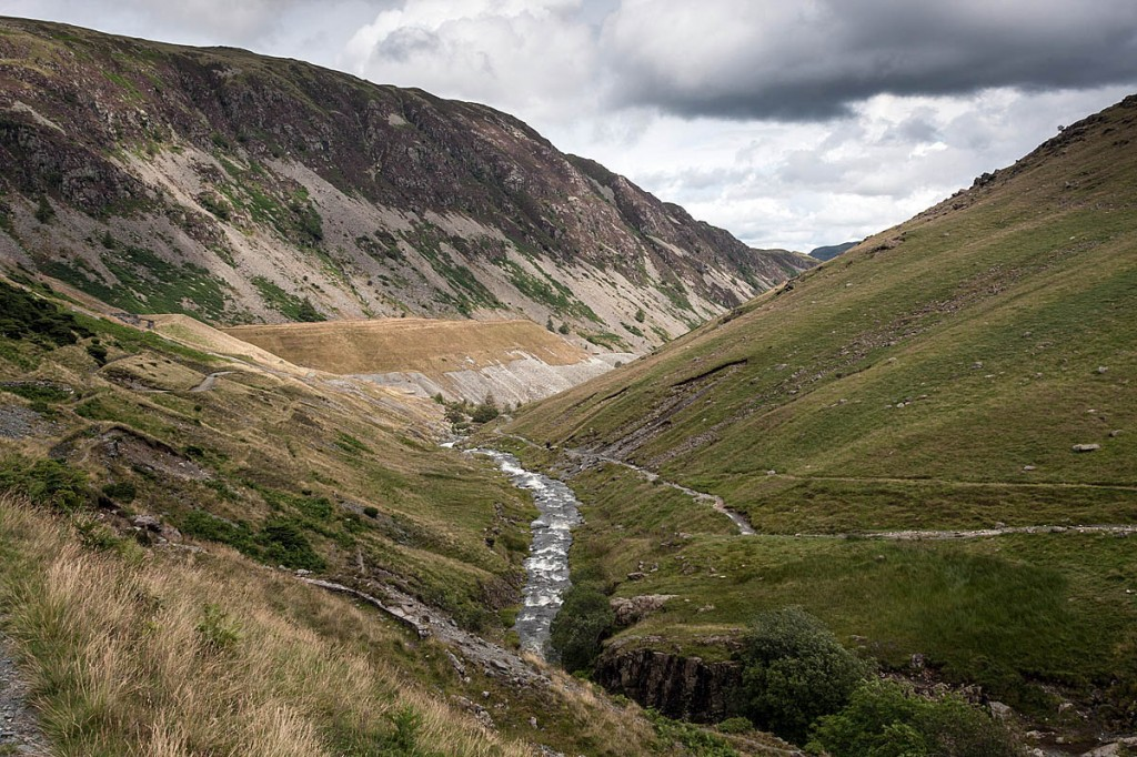 The man slipped while walking in the Glenridding valley. Photo: Bob Smith