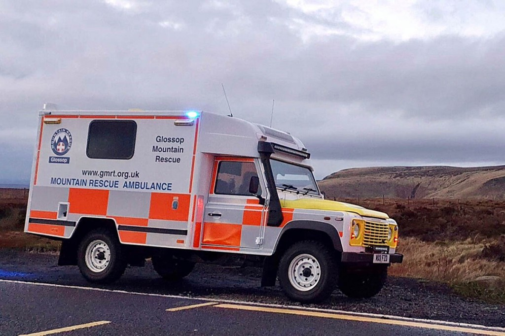 The team said people should keep them informed after calling them out. Photo: Glossop MRT