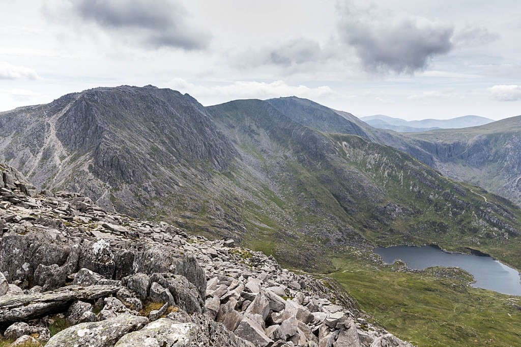 The Glyderau, seen from the summit of Tryfan. Photo: Bob Smith/grough