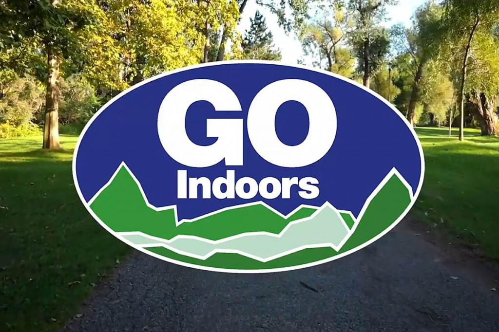GO Indoors: the message this weekend