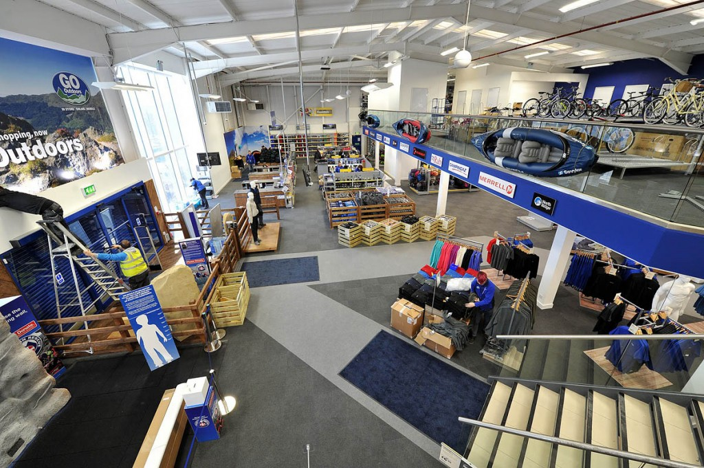 GO Outdoors has grown from one to 58 stores