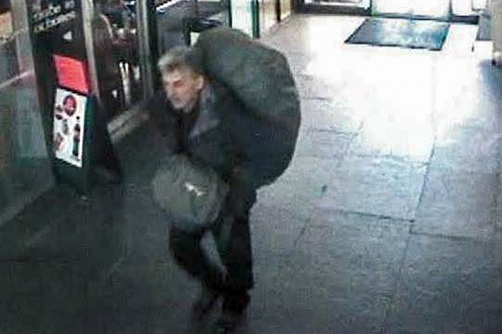 A CCTV image of Mr Bondanelli