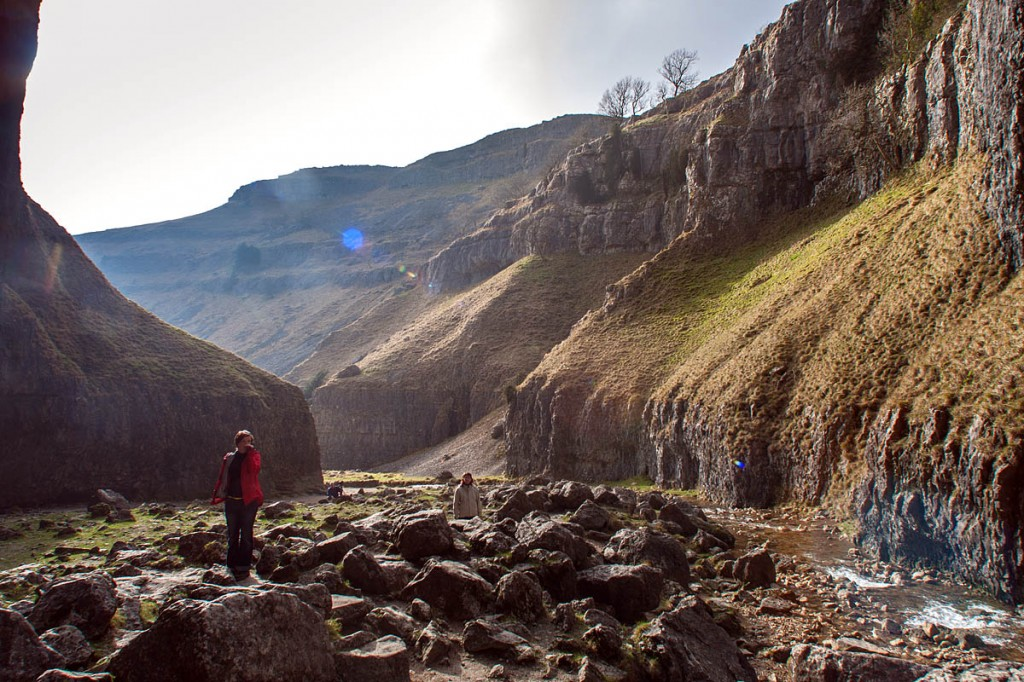 Gordale Scar in Malhamdale. Photo: Bob Smith/grough