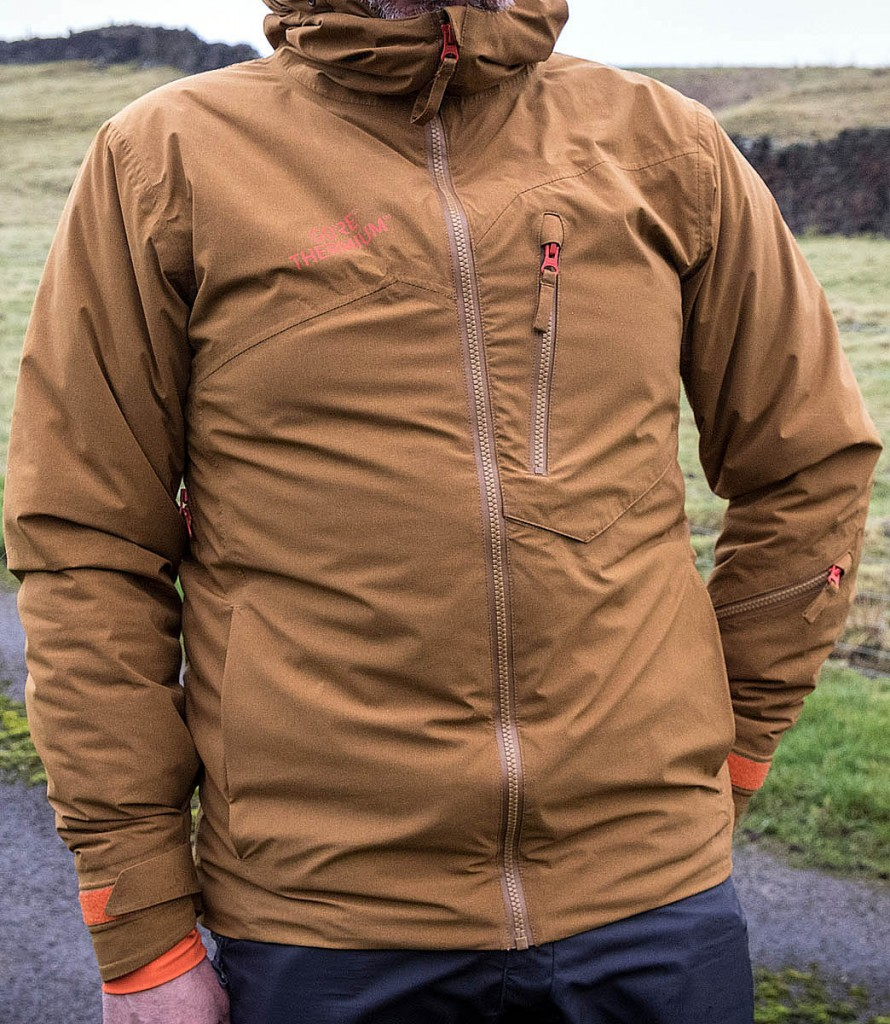 The Gore Thermium jacket. Photo: Bob Smith/grough