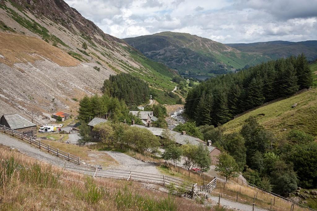 Greenside Mines, scene of the rescue. Photo: Bob Smith/grough