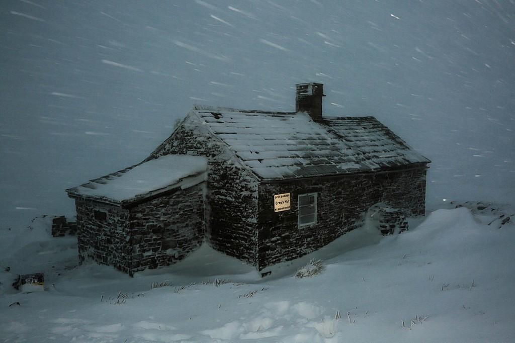 Greg's Hut. Photo: John Bamber/Spine Race