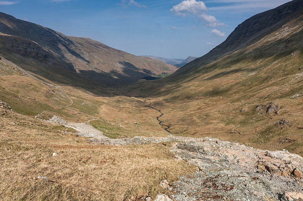 The woman slipped while descending into Grisedale. Photo: Bob Smith/grough