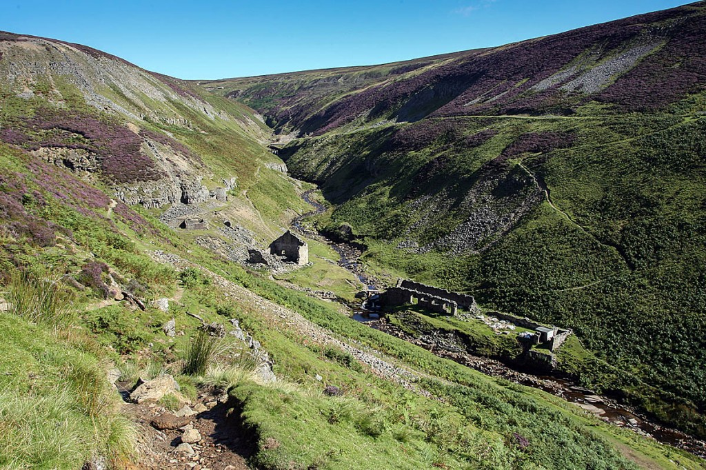 The walker was reported missing in the Gunnerside area of Swaledale. Photo: Bob Smith/grough