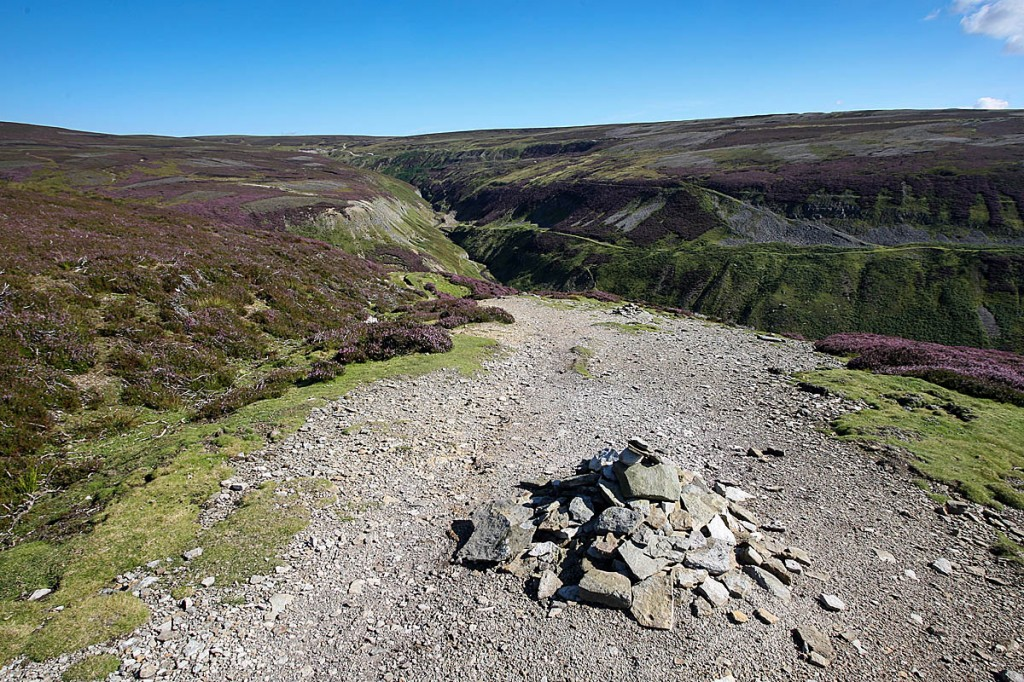Searches have taken place around Gunnerside Gill in Swaledale. Photo: Bob Smith/grough