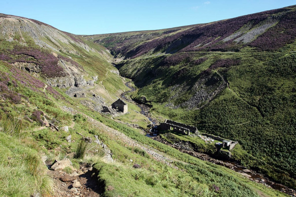 Gunnerside Gill lead mine in Swaledale