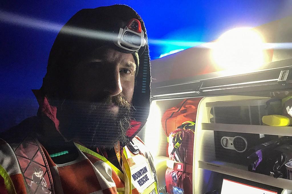 Holme Valley Mountain Rescue Team leader Owen Phillips