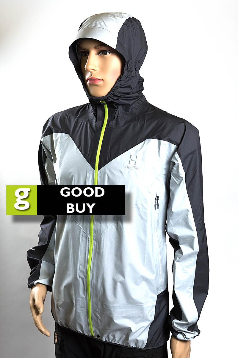 394b2b7d2f37 Haglöfs LIM Comp Jacket Price  £280. Colour  light grey dark grey. Weight   242g. Material  polyamide. Waterproofing  Gore-Tex Active Shell