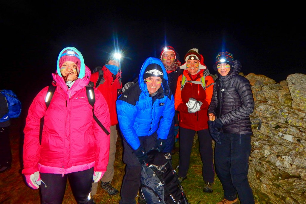 Happy participants in the event. Photo: Lakeland Mountain Guides