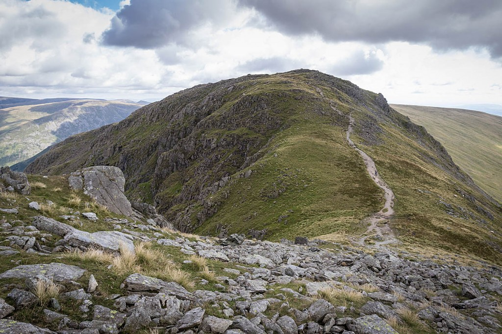 The walker collapsed on Hart Crag. Photo: Bob Smith/grough