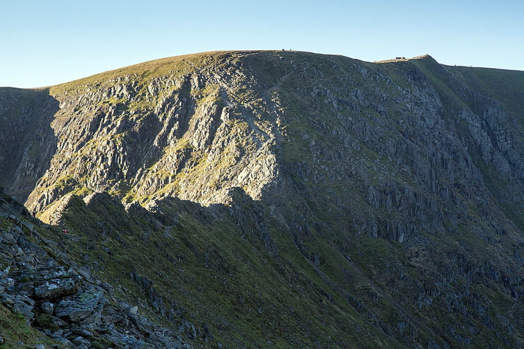 The couple called for help from Striding Edge on Helvellyn. Photo: Bob Smith/grough