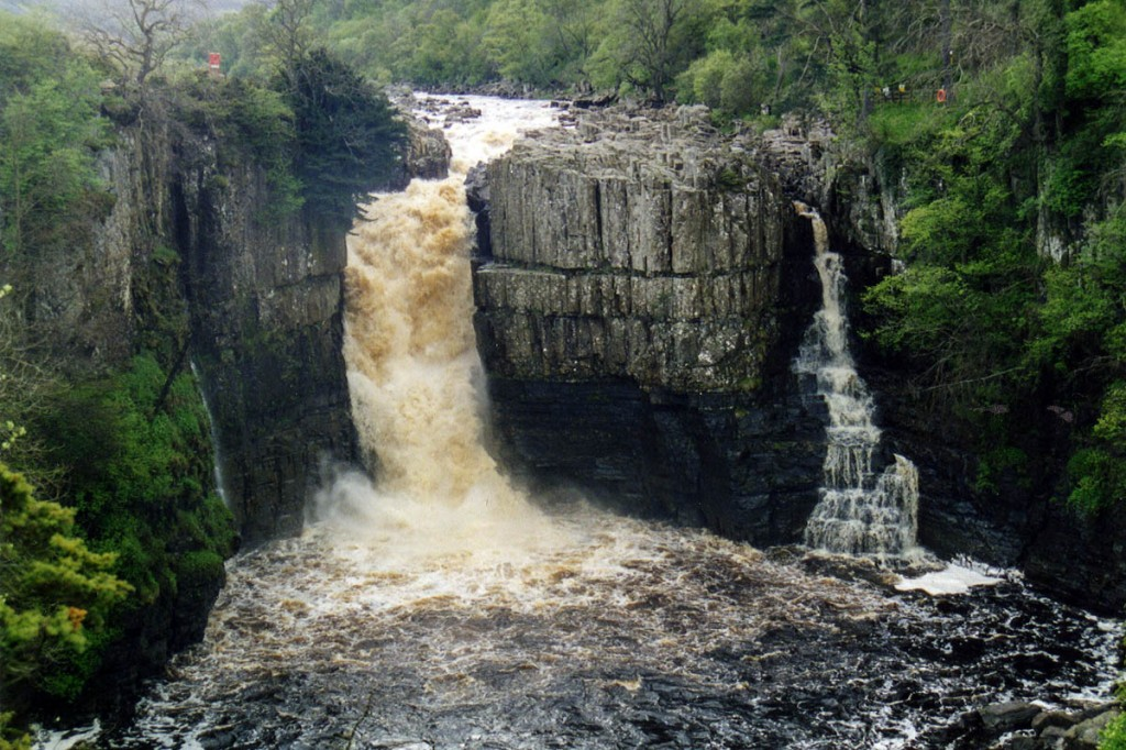 High Force, scene of the incident. Photo: Les Hull CC-BY-SA-2.0