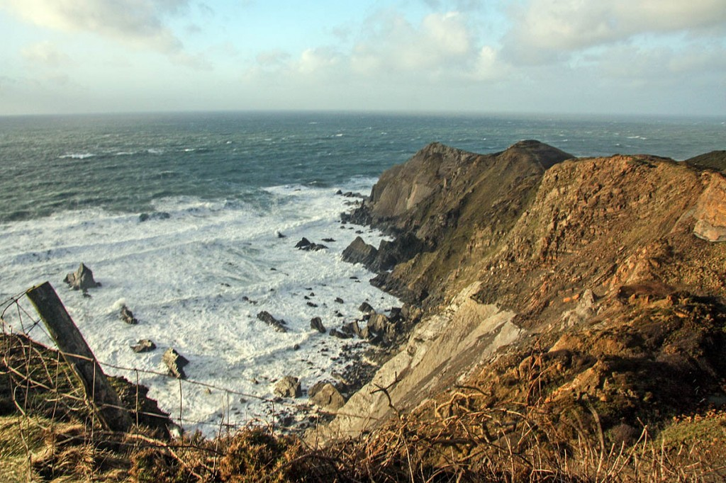The incident happened near Sharpnose Point on the Cornwall Coast. Photo: Bob Jones CC-BY-SA-2.0