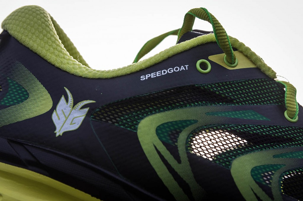 The Hoka One One Speedgoat. Photo: Bob Smith/grough