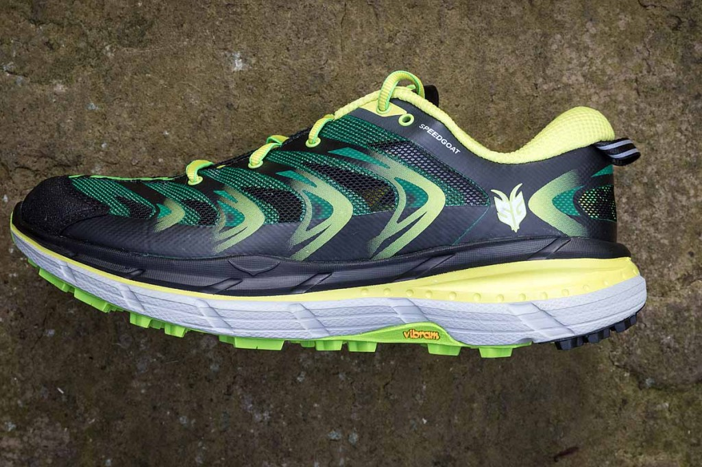 The Speedgoat has lots of underfoot cushioning. Photo: Bob Smith/grough