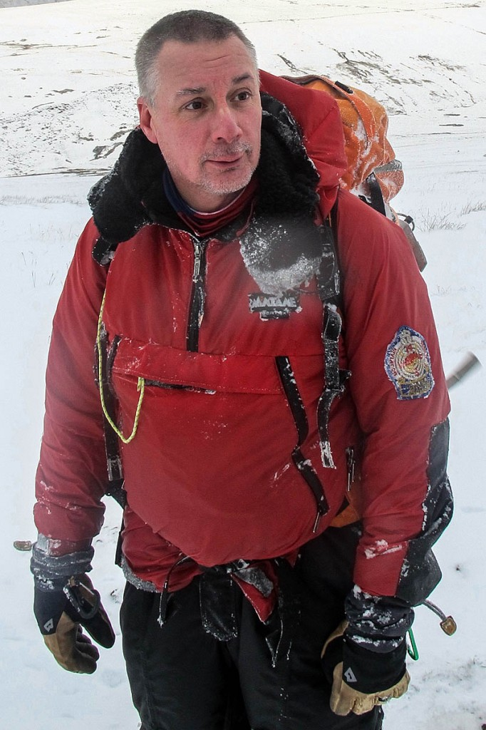 Huw Jones, who was appointed an MBE. Photo: Central Beacons MRT