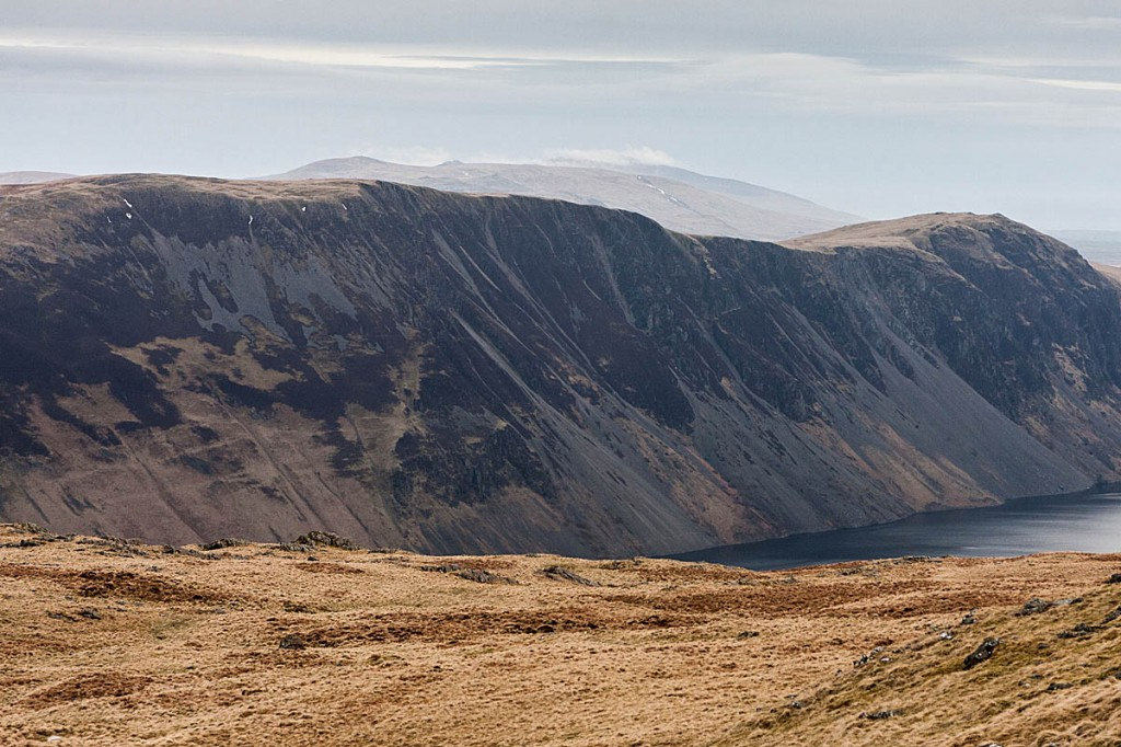 Illgill Head, left, fell short of the 2,000ft mark. Photo: Bob Smith/grough