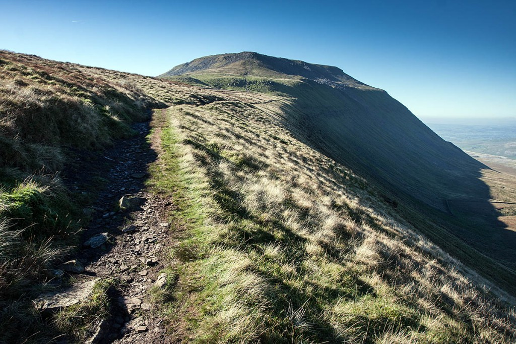 The walkers got lost on the flanks of Simon Fell. Photo: Bob Smith/grough