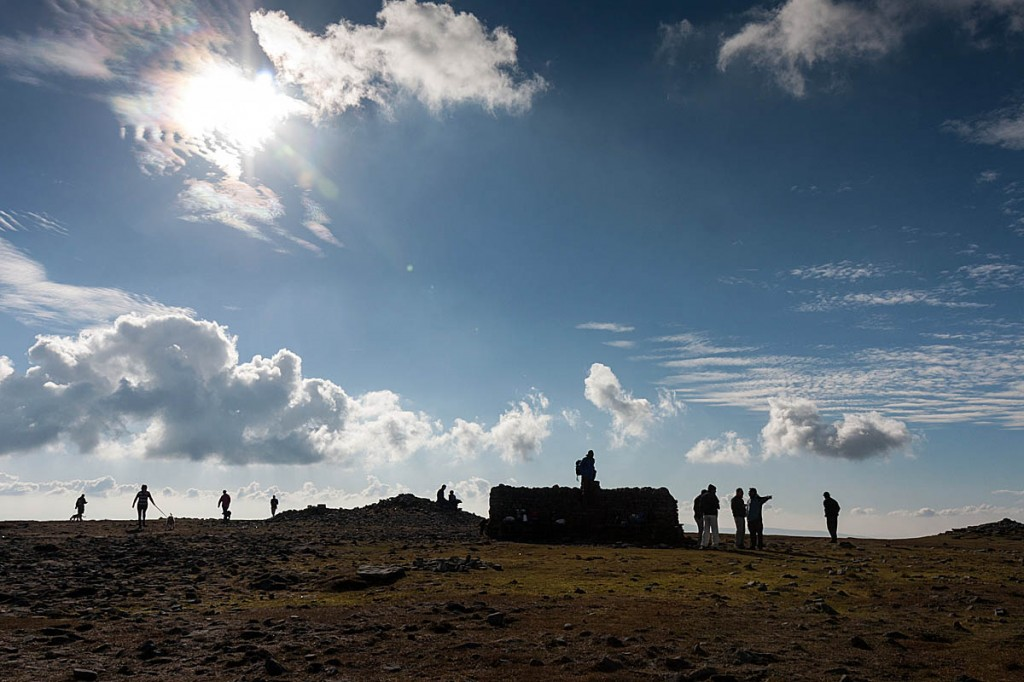 The discovery was made at the summit shelter of Ingleborough. Photo: Bob Smith/grough