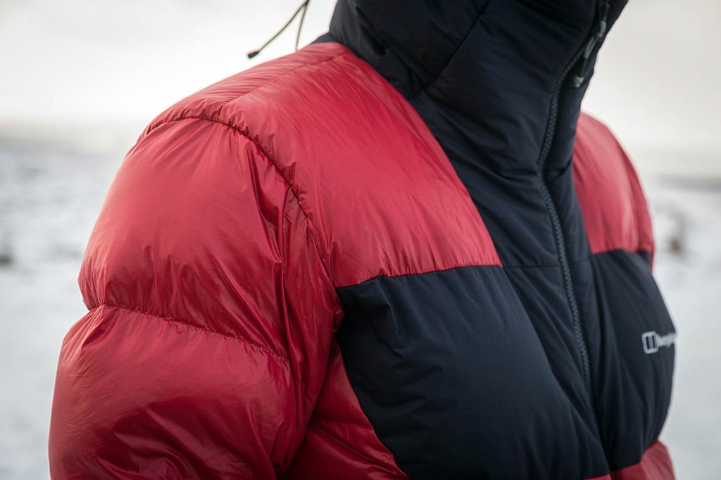 Down jackets performed well on the hill. Photo: Bob Smith/grough