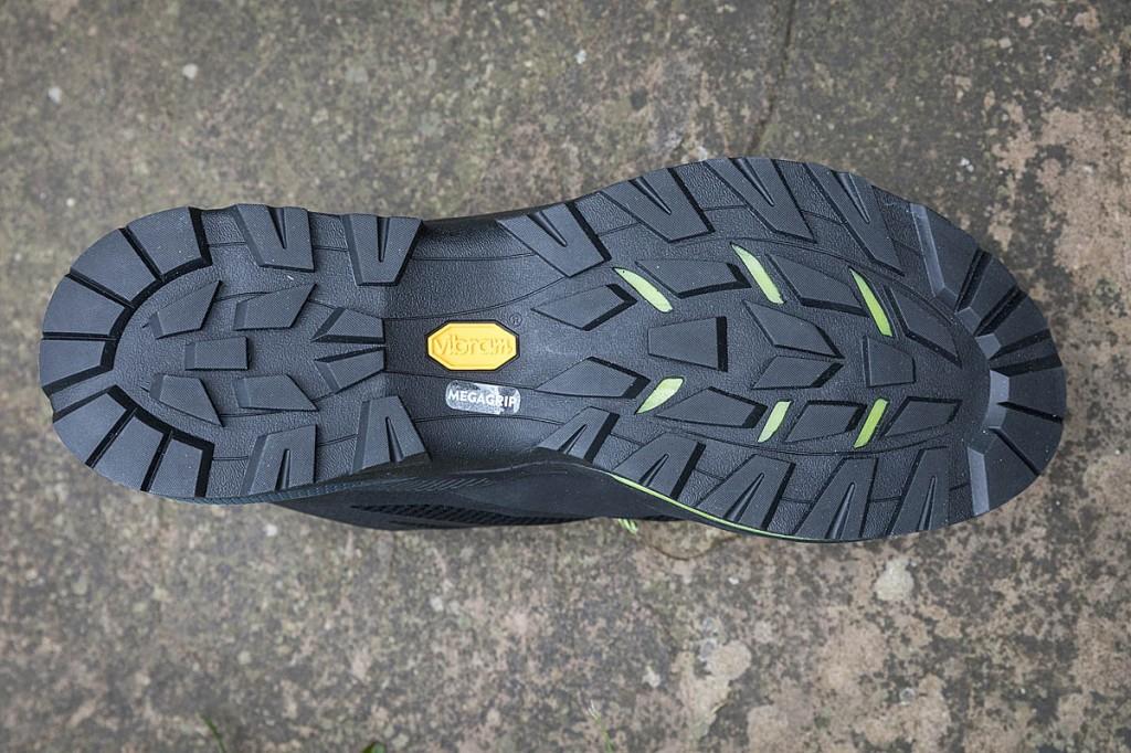 The Vibram sole provided very good grip. Photo: Bob Smith/grough