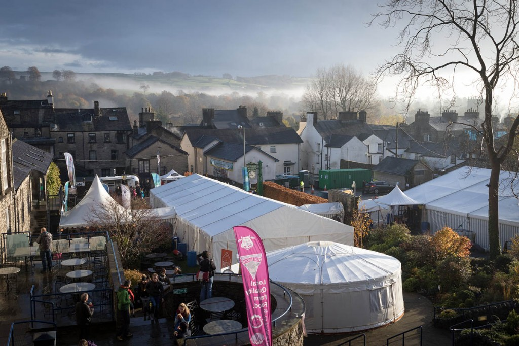 The Kendal Mountain Festival main site. Photo: Bob Smith/grough