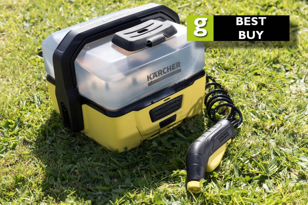 The Kärcher OC3 Portable Cleaner gets grough's 'Best Buy' mark. Photo: Bob Smith/grough