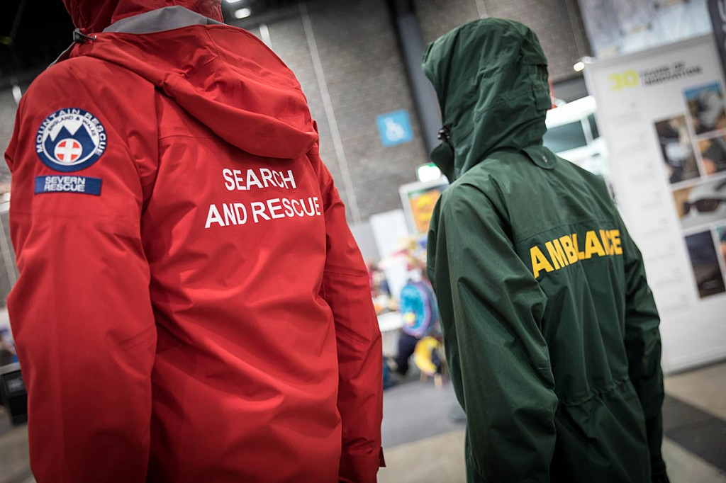 Keela also provides clothing for emergency services. Photo: Bob Smith/grough