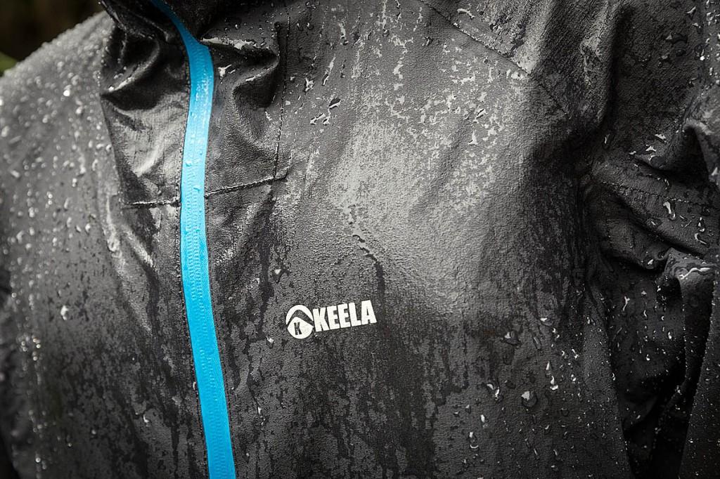 The Saxon Jacket kept out the rain during testing. Photo: Bob Smith/grough