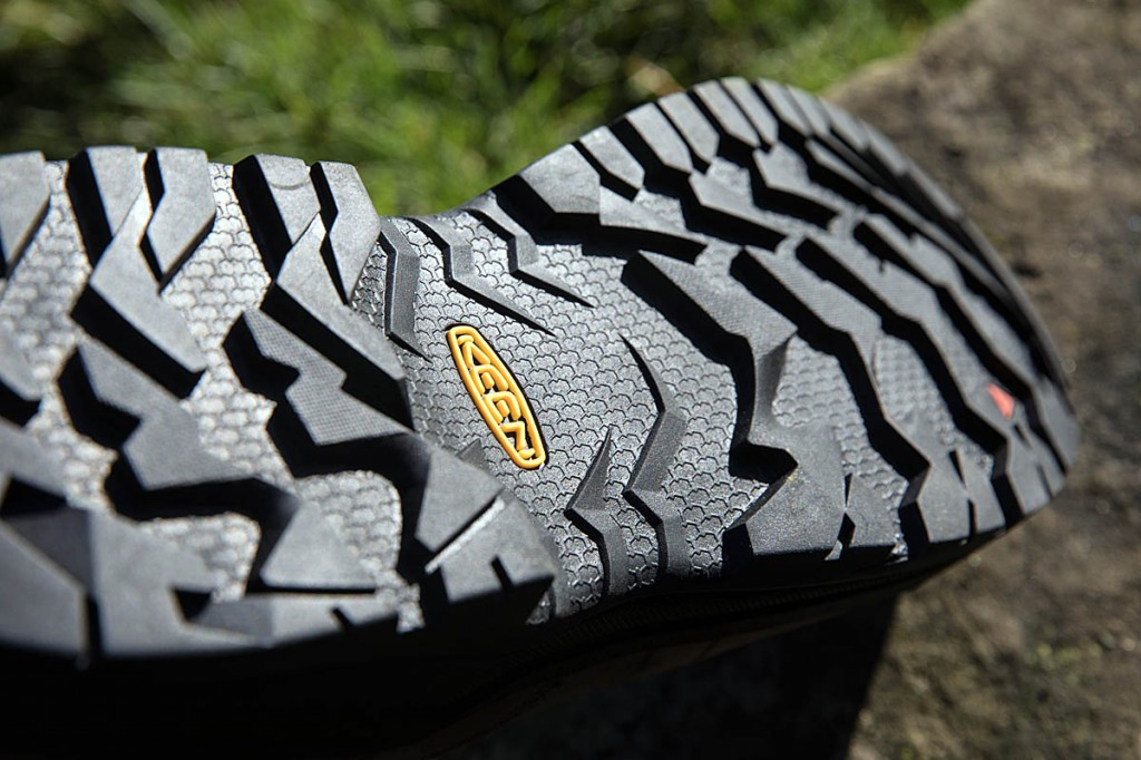 The Keen outsole. Photo: Bob Smith/grough