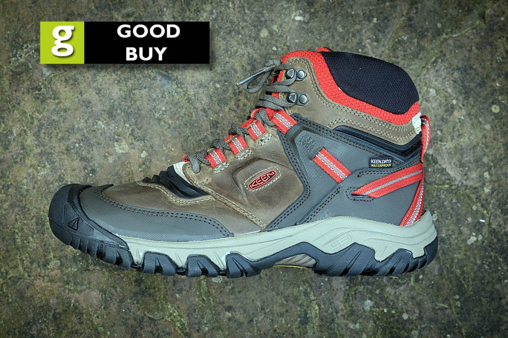 The Keen Ridge Flex Waterproof boots were rated a good buy. Photo: Bob Smith/grough