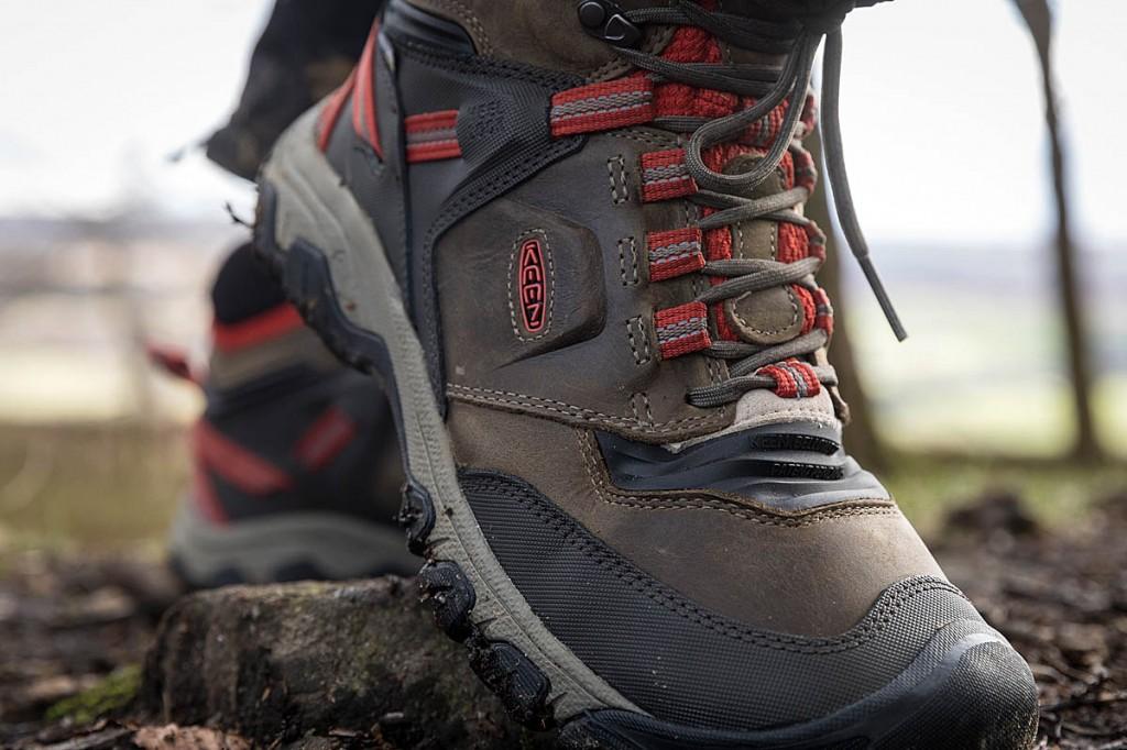 Keen Ridge Flex Waterproof Hiking Boots. Photo: Bob Smith/grough