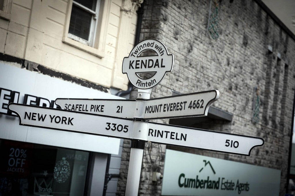 Kendal: just 4,662 miles from the world's highest mountain. Photo: Bob Smith/grough