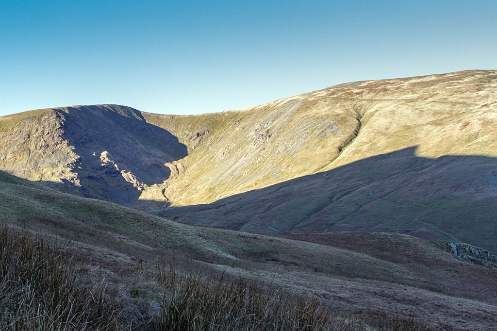 The walker fell on Red Screes above Keppel Cove in the Helvellyn range. Photo: Bob Smith/grough
