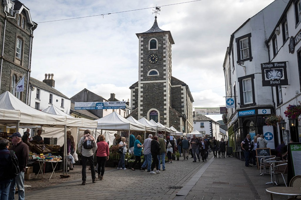 The Moot Hall in Keswick, start and finish point for the challenge. Photo: Bob Smith/grough