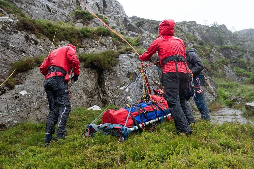 The rescue involved 26 team members. Photo: Keswick MRT