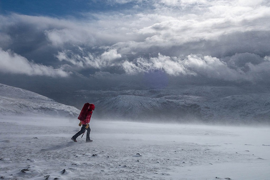 Conditions on the mountain were extreme. Photo: Keswick MRT